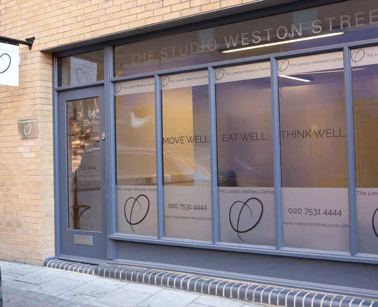 London Wellness Centre in London Bridge