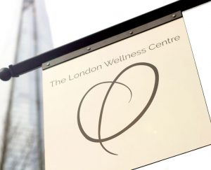London Wellness Centre sign in London Bridge