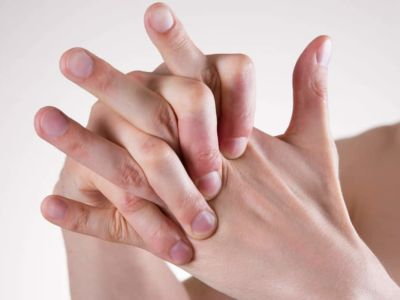 Joints in the hand / fingers