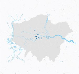 Developing new sites across London