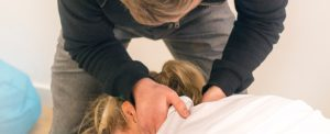 Sports massage therapy from chiropractor