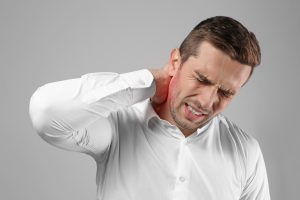 what does neck pain feel like