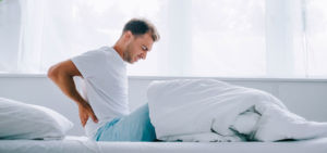 Chiropractic treatment of back pain
